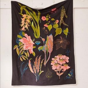 Urban Outfitters Botanical Tapestry